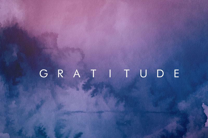 Gratitude & Trial